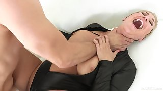 Kinky nurturer Ryan Keely rough sex