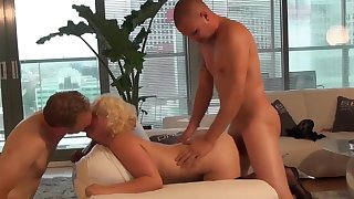 Incredible Homemade movie with Shaved, Threesome scenes