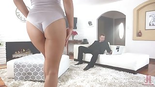 Ambrosial pretty good with tatts Zoey Monroe is tied up and fucked by derisory boyfriend