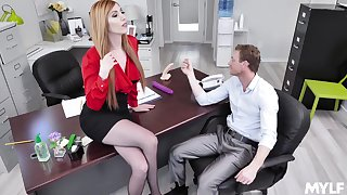 Lauren Phillips adores when the brush VIP destroys the brush cunt in the situation