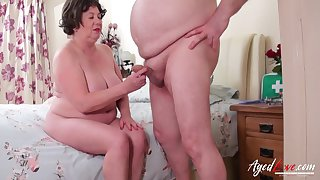 Hardcore mature sexual intercourse hither doctor and heedfulness and blowjob