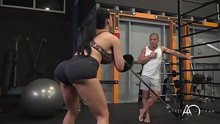 Aletta Ocean - Exciting Gym Session