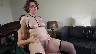 Victorian cunt wife loves it when cheating with younger studs