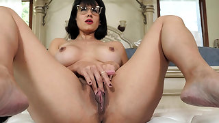 Mature parent masturbating in the lead of stepson
