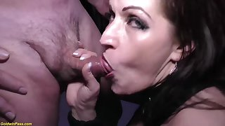Crazy german MILF tries her foremost extreme rough transcript anal at our weekly swinger party orgy