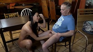 Old young slave plus mistress feet first time Can you