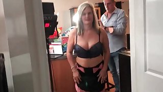 Cosplay layman sluts sharing dick in POV video